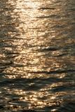 Água Sparkling ou superfície do mar Foto de Stock Royalty Free