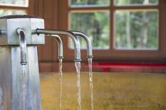 Água térmica Foto de Stock Royalty Free