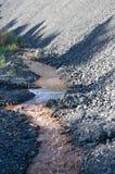 Água tóxica Foto de Stock Royalty Free