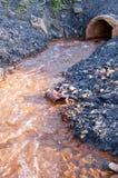 Água tóxica Fotos de Stock Royalty Free