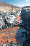 Água tóxica Fotos de Stock
