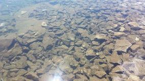 Água transparente Fotografia de Stock Royalty Free