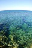 Água tropical transparente profunda Foto de Stock