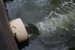 Água Waste Foto de Stock