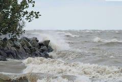 Águas ásperas imagem de stock