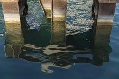Águas abstraídas do verão em Chicago 3 Fotos de Stock