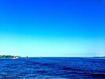 Águas azuis em Nova Orleães imagens de stock royalty free