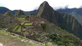 Águas Calientes, Machu Picchu, Peru Imagens de Stock