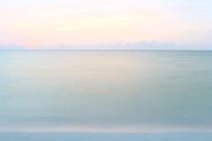 Águas calmas. Fotografia de Stock