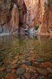 Águas calmas Fotografia de Stock