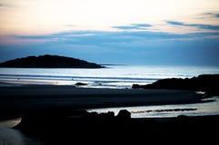 Águas calmas Foto de Stock