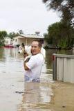 Águas da inundação Imagens de Stock Royalty Free