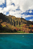 Águas de turquesa de Havaí Fotografia de Stock Royalty Free