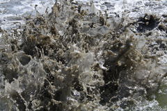 Águas incomodadas Foto de Stock
