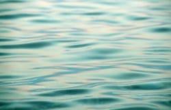 Águas metálicas azuis fotografia de stock royalty free