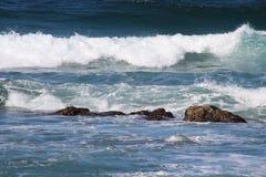 Águas rochosas Fotografia de Stock