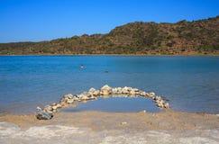 Águas térmicas, inPantelleria de Lago di Venere Fotos de Stock