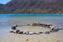 Águas térmicas, inPantelleria de Lago di Venere Imagem de Stock