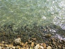 Águas verdes Imagens de Stock Royalty Free