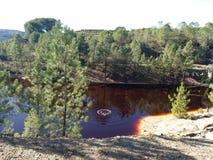 Águas vermelhas Imagem de Stock Royalty Free