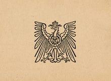 Águia alemão ww2 do Reich de Ober Ost imagem de stock