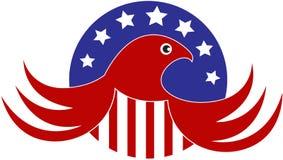 Águia calva americana ilustração do vetor
