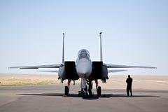 Águia da batida F-15 fotos de stock
