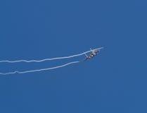 Águia da batida F15 fotografia de stock royalty free