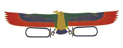 Águia egípcia Foto de Stock