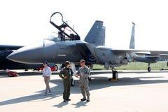 Águia F-15 Fotos de Stock