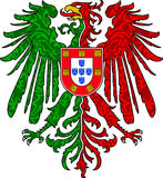 Águia portuguesa Fotos de Stock