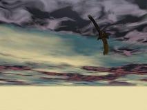 Águia surreal 2 Imagem de Stock