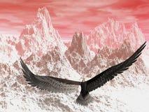 Águila ilustración del vector