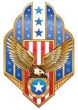 Águila americana Imágenes de archivo libres de regalías