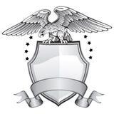 Águila coa alas extensión salvaje Imagenes de archivo