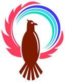 Águila con el globo Foto de archivo