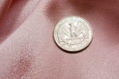 Águila de 25 centavos de los E.E.U.U. Foto de archivo libre de regalías