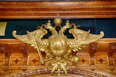 Águila de Habsburgo, Graz, Austria Foto de archivo
