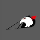 Águila de la abstracción stock de ilustración