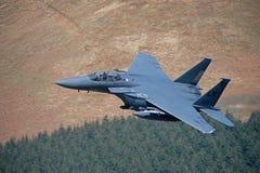 Águila de la huelga de F-15E Fotografía de archivo libre de regalías