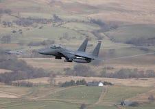 Águila de la huelga F-15 Imágenes de archivo libres de regalías