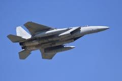 Águila de la huelga F15 Imagen de archivo libre de regalías