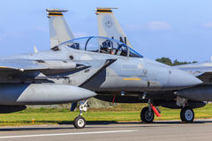 Águila de la huelga F-15 Foto de archivo