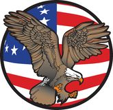 Águila de la libertad Foto de archivo