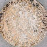 Águila de la monarquía austrohúngara Fotos de archivo