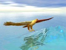 Águila del hielo Fotografía de archivo