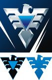 Águila del hierro ilustración del vector