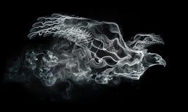 Águila del humo ilustración del vector