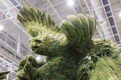 Águila del jade foto de archivo libre de regalías