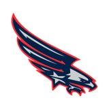 Águila del logotipo Imagen de archivo libre de regalías